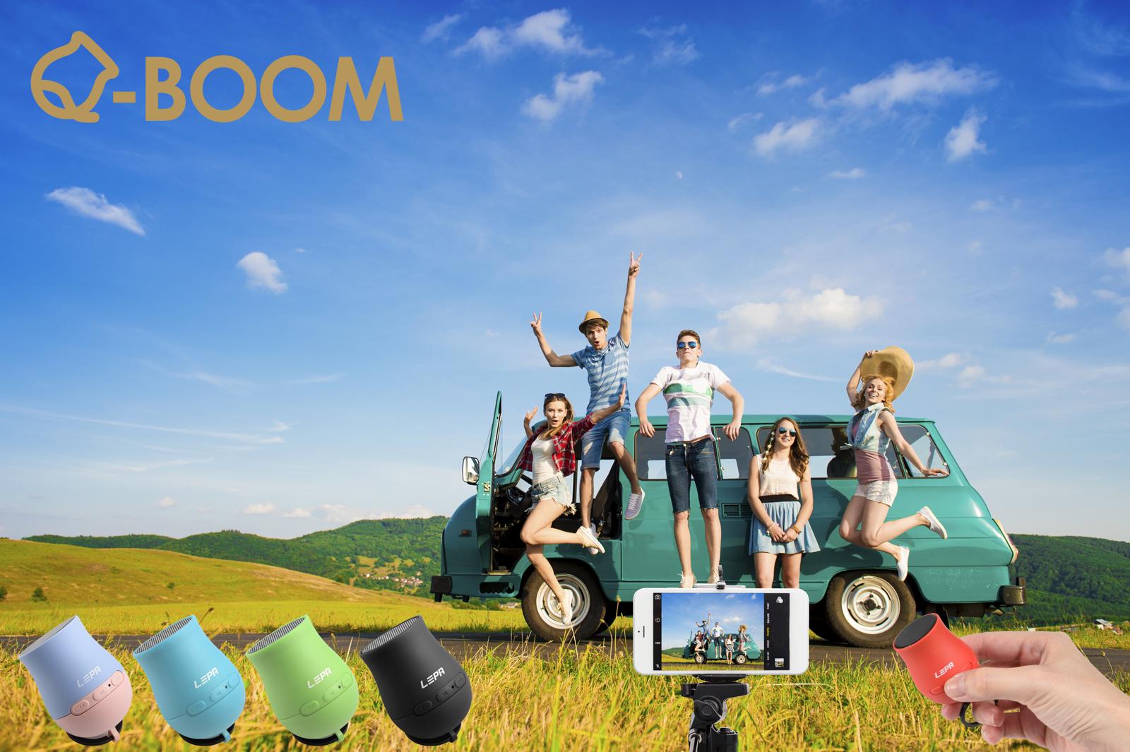 Q-Boom Bluetooth Speaker